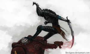 Dark Eldar: Lithe and Quick by Beckjann