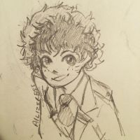 Midoriya  by Ailizerbee08
