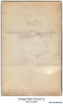 Old Grunger Paper Texture 01 by fudgegraphics