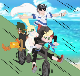 going to aether paradise to save lusamine be like by kagazzle