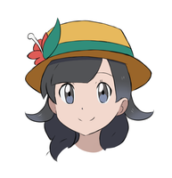 Pokemon Ultra SM - Girl Player Headshot by chocomiru02