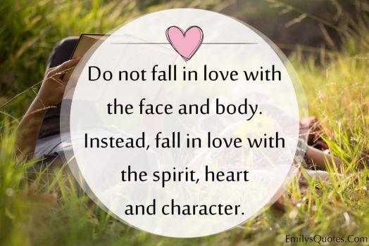 EmilysQuotes.Com - faill in love, spirit, hear by EmilysQuotes