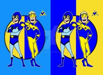 blue n gold choices by AlanSchell