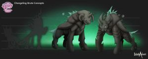 Changling Brute concepts by balade