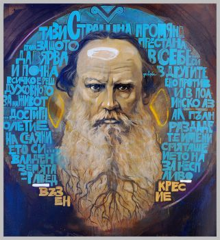 Lev Tolstoy by nasimo
