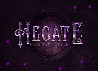 Free Text Style | Hecate by allimli