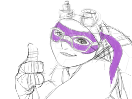 -sketch- Donatello 2k14