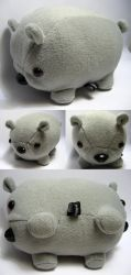 double ended wombat by andricongirl