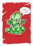 Cutethulhu Doodle by MysticReflections