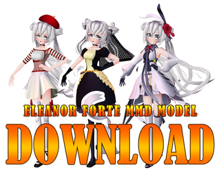 Eleanor Forte MMD Model Download V.1.0.2 by Pikadude31451