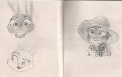 Judy Sketches by AfroFCP