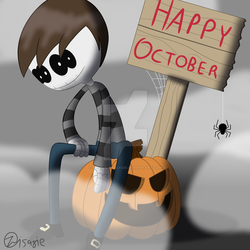 HAPPY OCTOBER 2018 by Petrus-C-Visagie