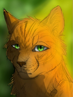 Headshot of Firestar by FUCKING-FUCKER-FUCK