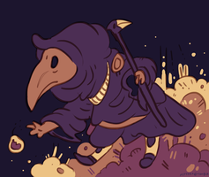 Plague Knight by NimbusOwl49