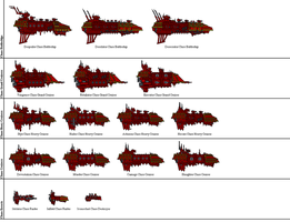 Battlefleet Gothic Pixel - Chaos by Sleeping-Demons