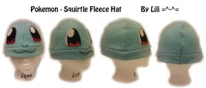 Squirtle Hat by LiliNeko
