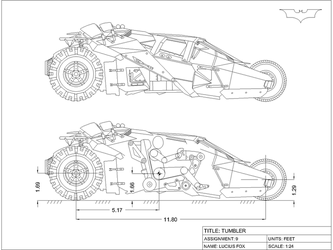 Tumbler orthographic drawing by Solarisphere