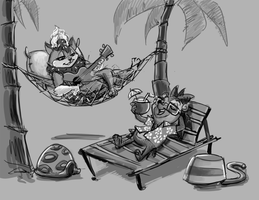 So Much Fun Being Laid Back by Caeledonian