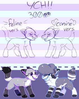 Chibi YCH : 300 Points : [CLOSED] by chookai