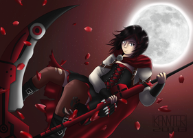 RWBY - Ruby by kannter