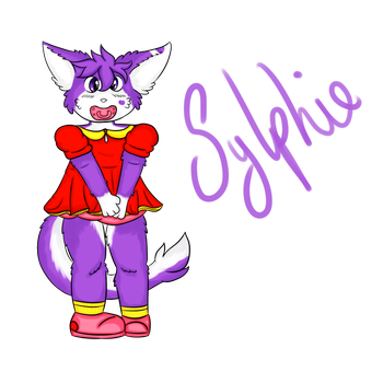 Sylphie Babyfur - Commission by iBloo by Plasticdolly11