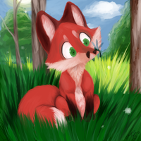 The littlest fox.. by THE--bunny