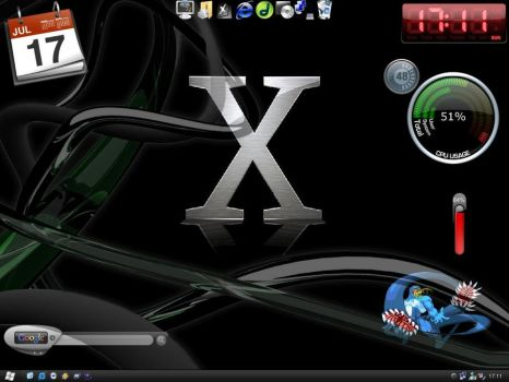 Windows Os X Desktop by caraza
