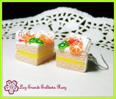 Sweet fruits cake by Sarudanya