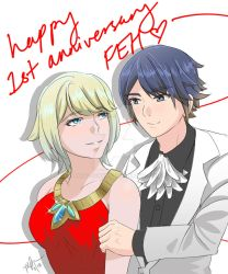 Alfonse x Fjorm Anniversary Edition by Tart-Jerry