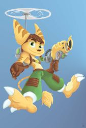 Ratchet  clank classic by Rasmussen891
