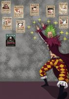 One Piece ~ Bartolomeo Senpai by Katong999