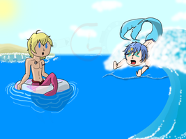 CE - Mermen Fun in the Sun by TheGamingCentaur