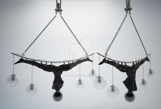 The Human Rubber Hanging Lamp model for SL by Enslaved-SL
