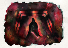 Darth Vader - Rogue One by MikeKretz