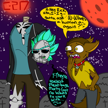 Monsterverse (Rick and Morty) by YaoiLover113