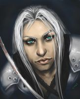 .Hello Sephiroth. by Lii-chan