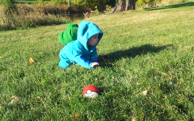 bulbasaur costume by Coall