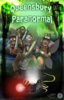 Ghostbusters concert commission by Jaymooers