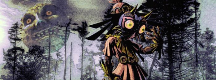 Majora's Facebook cover by Irishmile