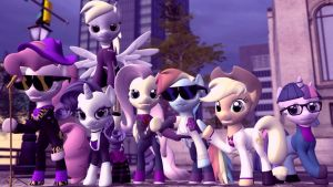 Saints Row Ponies the Second by Andrewnuva199