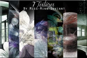 7 pack of Textures by VaLeNtInE-DeViAnT