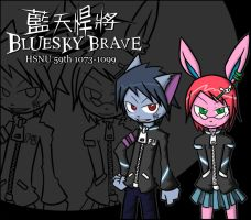 Bluesky Brave bag by cjcat2266