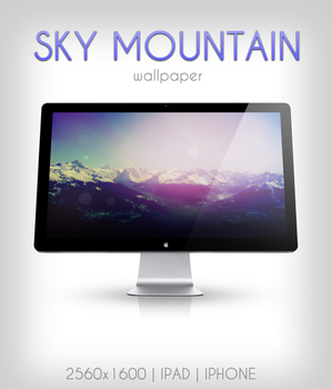 Sky Moutain by thegoodnesrus