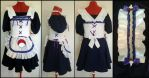 Commission: Sasuke Lolita Maid v.1 style by Antiquity-Dreams