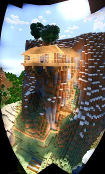 RIVANE's Forge House |  Single Player Build by MinecraftPhotography