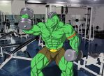 Lifting Routine by TargonRedDragon