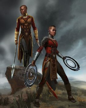 Dora Milaje Costume Design by Ubermonster