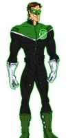 Modernized Green Lantern by RazorsEdge701