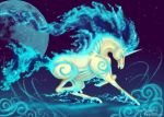 Shiny Rapidash : Unicorn by RenePolumorfous