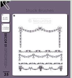Brush Pack - Decor Elements by iMouritsa